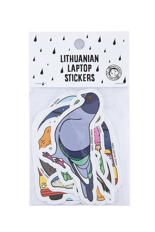 Lithuanian Laptop Stickers