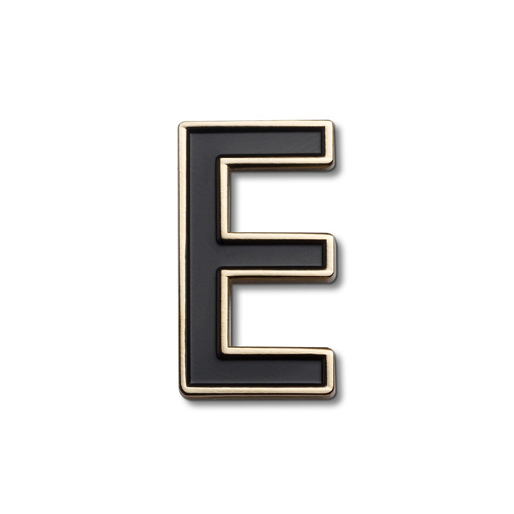 Enamel Letter E Pin
