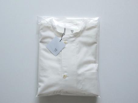 drawer shirts / white /ライトモールスキン