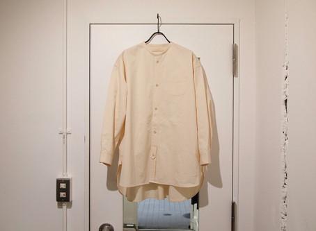 no collar long shirts (wide)
