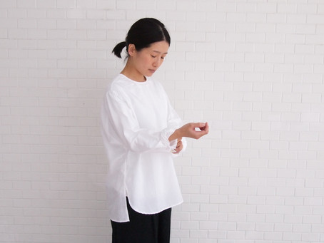 Living work shirts / コットン×リネン(ラミー)