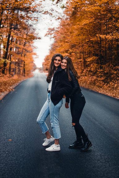 Autumn Friends Shoot