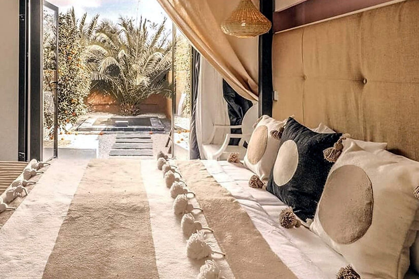 MARRAKESH - MORROCAN DELUXE ROOM - TRIPLE SHARE (FEMALE ONLY)