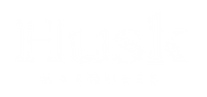Husk Marquees White Logo