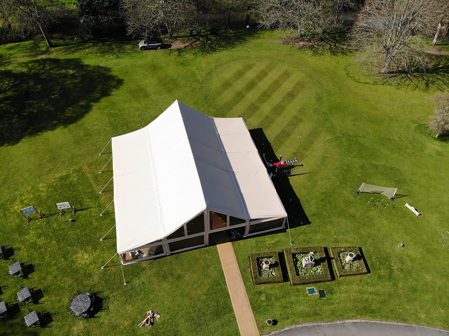 Cruck-tent-for-corporate-events-hire-in South Oxfordshire