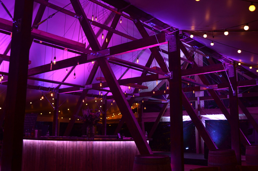 Cruck-tent-for-hire-night-interior