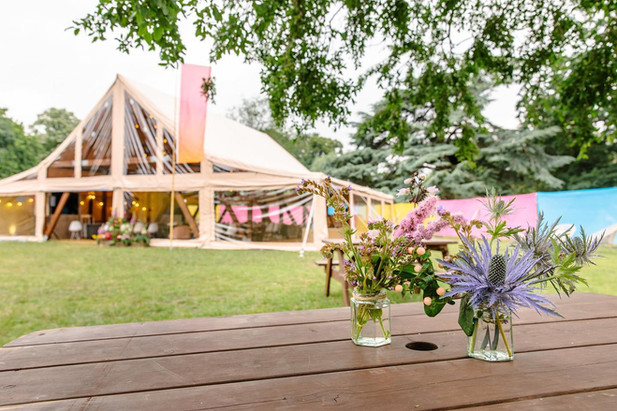 Husk Marquees tipi wedding hire
