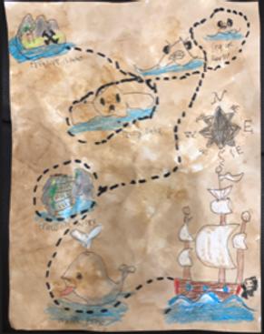 Treasure Map - Grade 5