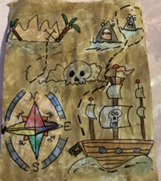 Treasure Map Grade 5