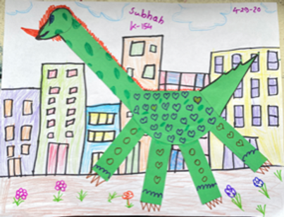 If the Dinosaurs Came Back - Grade K