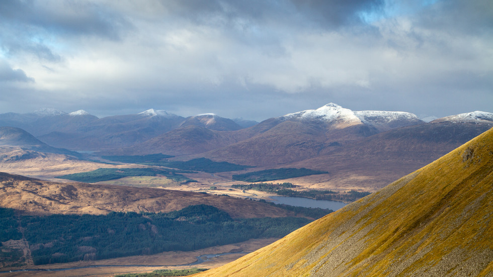 Glen Orchy & The Black Mount