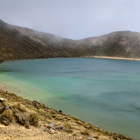 Blue Lake, In The Cloud