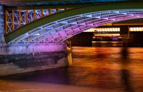 #04 Bridge Night On The Thames