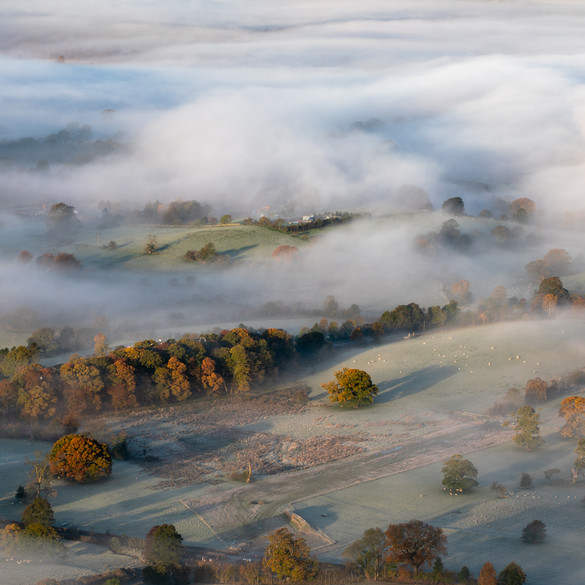 Misty Derwent Valley