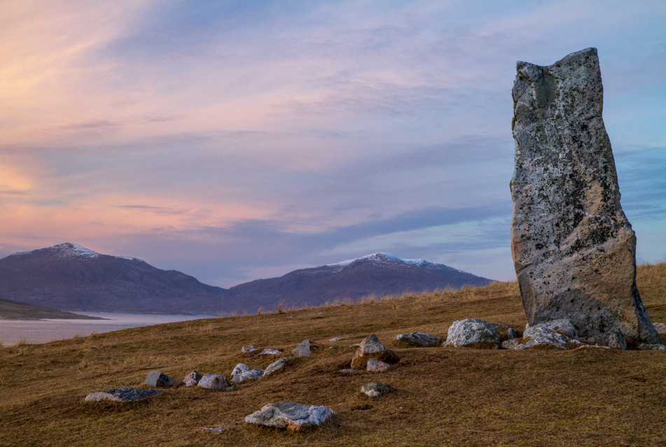 Pastel Evening By The MacLeod Stone {Replace}