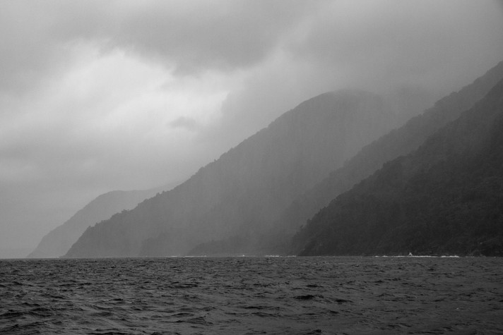 Milford Sound In The Rain