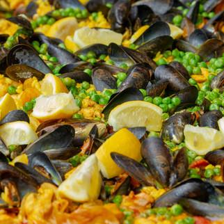 Colourful Paella