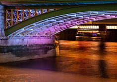 Bridge Night On The Thames