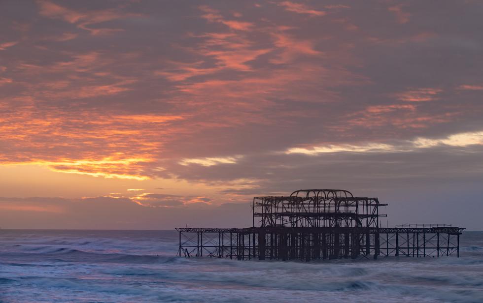 Dawn At East Pier