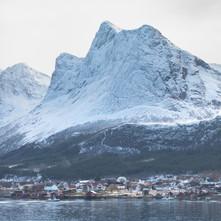 Ørnes, and Mountainous Backdrop