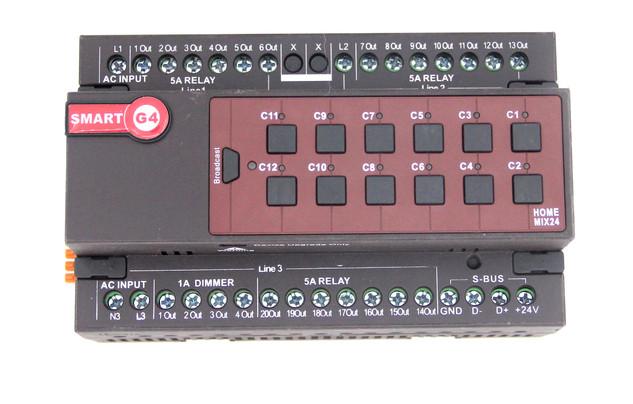 Mix24 Controller, DIN-Rail Mount (G4) (9)