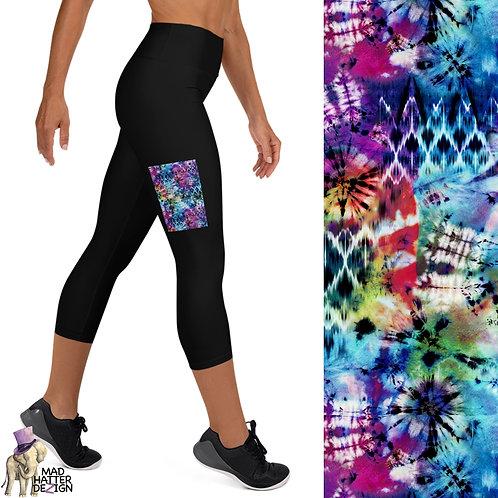 Black w/ Tie-Dye Fun Pocket