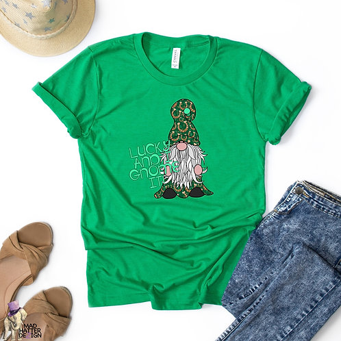 WS: Lucky & I Gnome It Tee