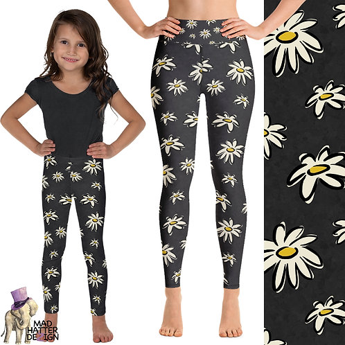 Daisy Charcoal Leggings