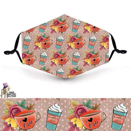Pumpkin Spice Latte Mask