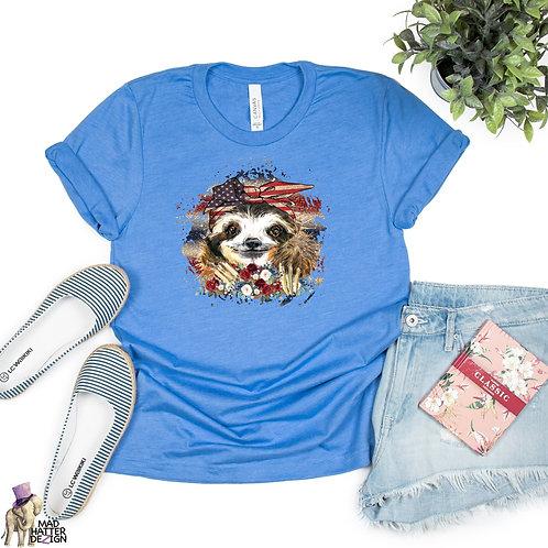 WS: American Sloth Tee