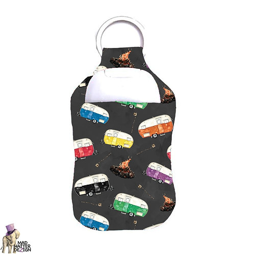 S'More Camping Sanitizer Keychain