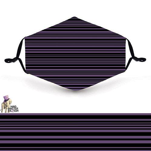 Purple Stripes Mask