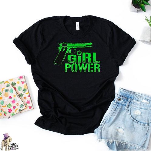 WS: Girl Power Lime Tee