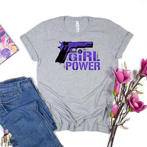 WS: Girl Power Purple Tee