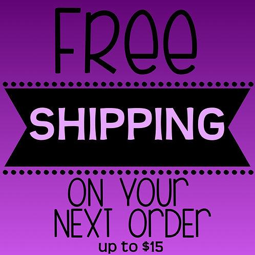 Free Shipping (1 Order)