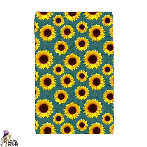Sunflower Teal Pocket Wallet