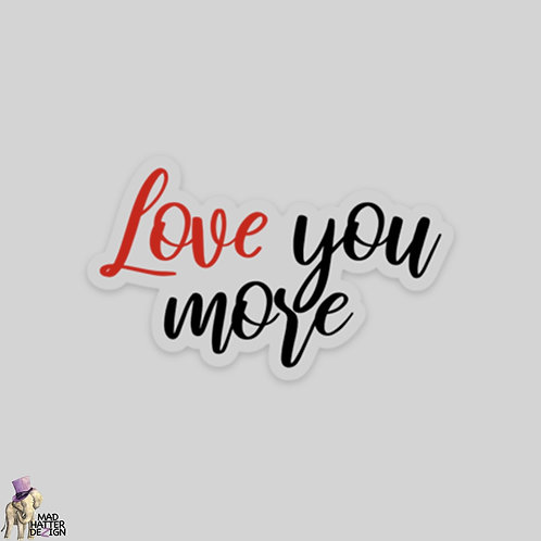 """WS: Love You More (3"""")"""