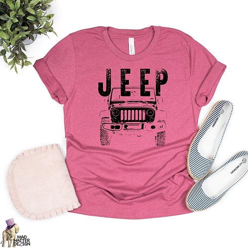 WS: Jeep (Black) Tee