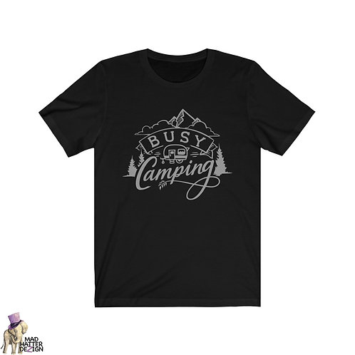 WS: Busy Camping Tee