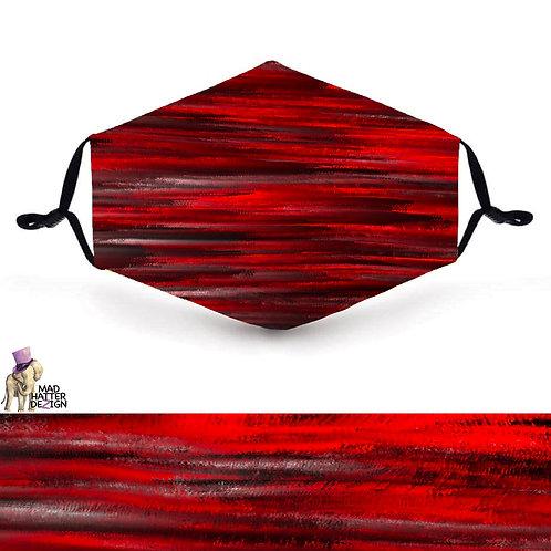 Red & Black Mask