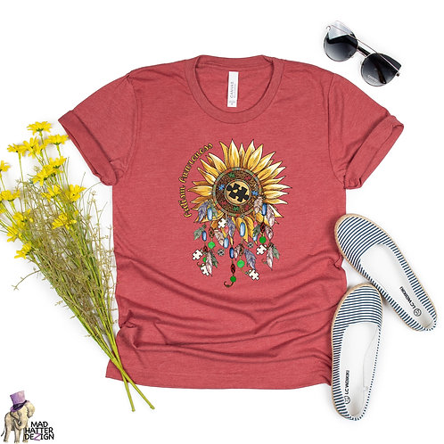 Autism Awareness Sunflower Tee