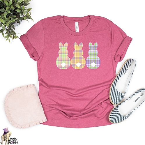 WS: Spring Plaid Easter Tee