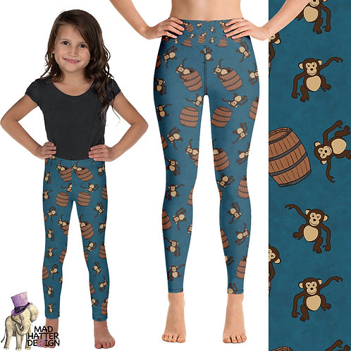 Barrel Of Monkeys Leggings