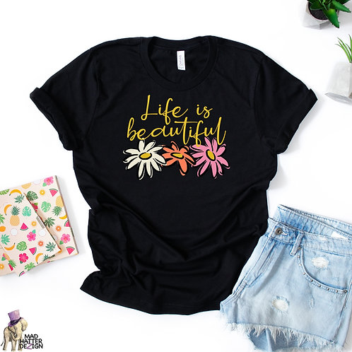 WS: Life Is Beautiful Tee