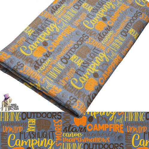 WS: Camping Subway Art Blanket