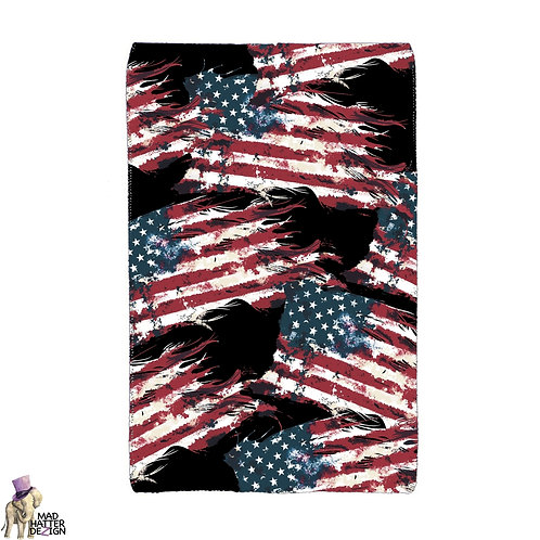 Grunge Flag Pocket Wallet