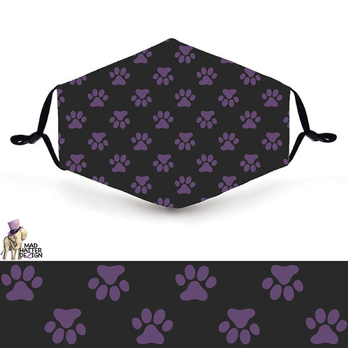 Purple Paws Mask
