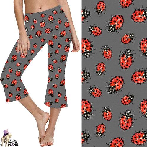 WS: Ladybug Crawl Yoga Capris