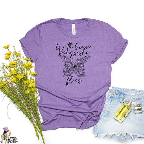 WS: With Brave Wings Tee