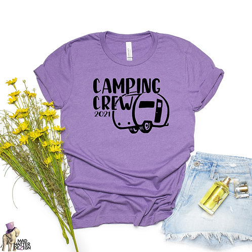 WS: Camping Crew 2021 Black Tee